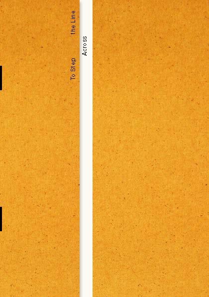 To Step Across the Line. Design: Atelier Dyakova.