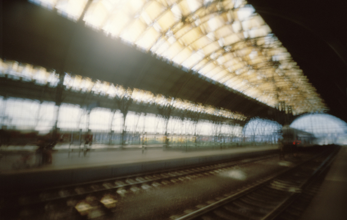 © Karen Stuke, Wilsonovo Nádraží (Wilson Station), Prague, 2013, from the body of work Stuke – After Sebald's Austerlitz