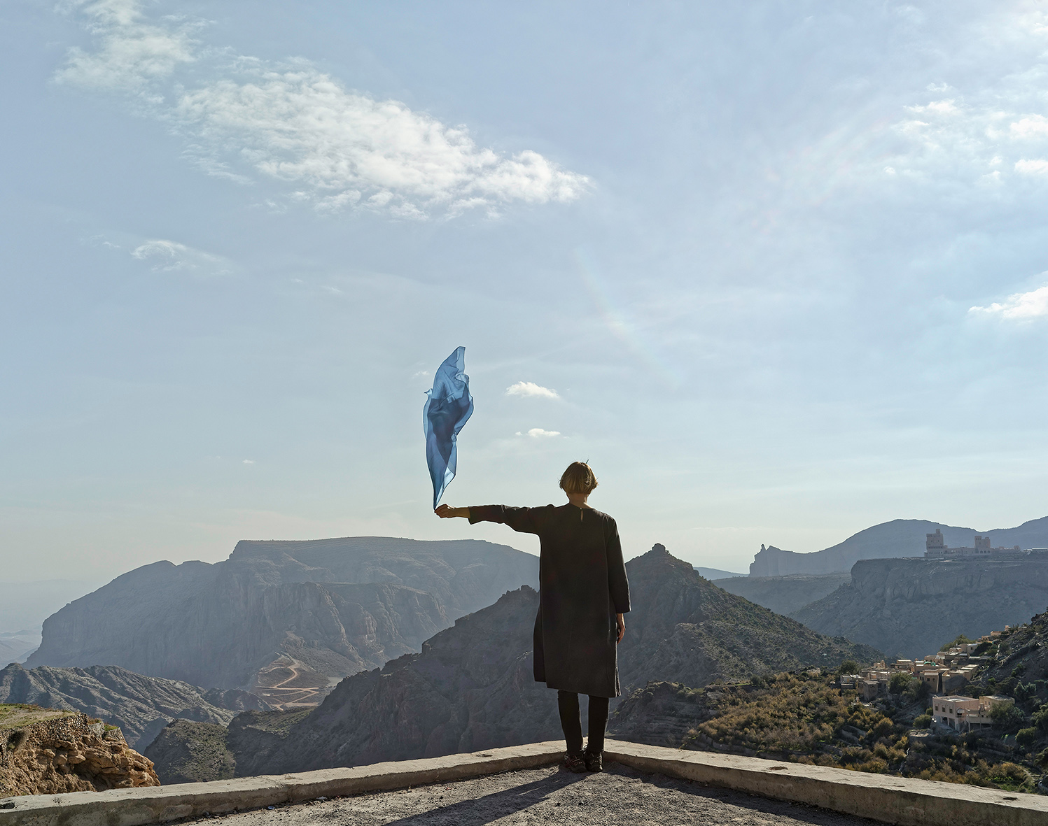 Elina Brotherus , Measuring Wind Speed (Jabal)